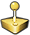 Gaming Staff Chess Piece (Gold)