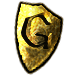 Gaming Service Shield (Gold)