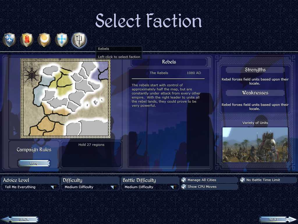 Custom Campaign Mod 1 02 - Downloads - Total War Center Forums